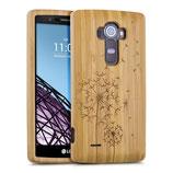 Bambus Case Cover LG G4 Blume