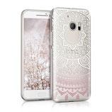 Crystal TPU Case HTC 10 Indische Sonne Rosa