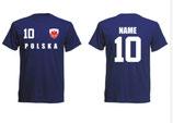Polen WM 2018 T-Shirt Kinder Navy