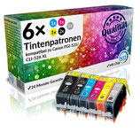 5 x Tintenpatrone Canon CLI-526 XL
