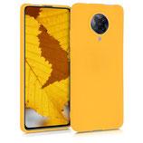 Hülle Case Xiaomi Poco F2 Pro Honiggelb