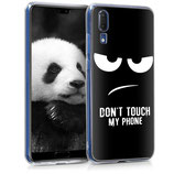 TPU Case Hülle Huawei P20 Dont Touch