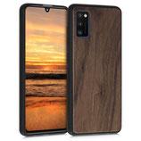 Walnussholz Hülle Samsung Galaxy A41
