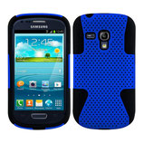 Gel Silikon Case Samsung Galaxy S3 Mini Blau