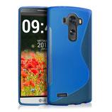 TPU Silikon Case S-Line LG G4 Blau