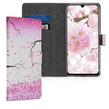 Wallet Case Samsung Galaxy A70 Kirschblüten
