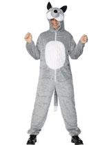 Wolf - Adult Kostüm Grösse 52-54