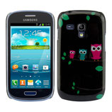 Hard Case Samsung Galaxy S3 Mini Eule SW
