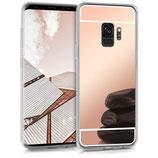 TPU Spiegel Case Samsung Galaxy S9 Rosegold