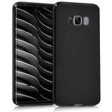 TPU Silikon Case Samsung Galaxy S8 Schwarz matt