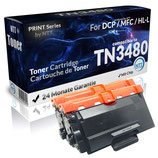 2x Toner Schwarz Brother TN3480