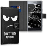 Wallet Case Xperia XZ Premium Dont Touch