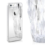 Spiegel Hülle iPhone SE / 5 / 5S Silber