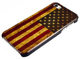 RETRO AMERIKA CASE FÜR APPLE IPHONE 5 FLAGGE SCHUTZ HÜLLE