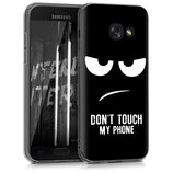 Crystal Case Hülle Samsung Galaxy A3 2017 Dont Touch