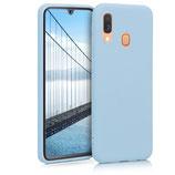 TPU Case Samsung Galaxy A40 Hellblau
