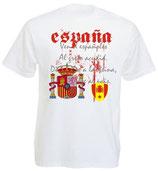 Spanien T-Shirt Nationalhymne EM 2016