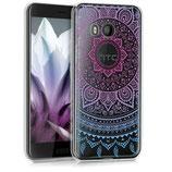 TPU Silikon Case Hülle HTC U11 Sonne Pink