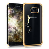 Crystal Case Samsung Galaxy S7 Edge Fee Gold