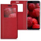 Flip Case Samsung Galaxy S8 Fenster Rot