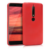 TPU Case Hülle Nokia 6.1 (2018) Rot