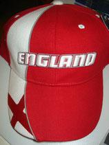 Basecap England EM 2016 m.Stickerei