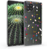 TPU Case Hülle Samsung Galaxy A42 Wildblumen
