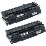 2x Toner Schwarz HP 49X (Q5949X) Laserjet