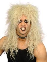 Blonde Perücke Rocker Hardrock