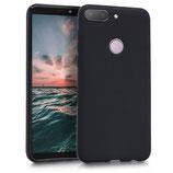 TPU Silikon Case Hülle HTC Desire 12+ Schwarz