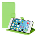 Wallet Hülle Apple Iphone 6 Plus Grün