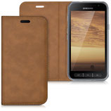 Flip Case Samsung Galaxy Xcover 4 Cognac