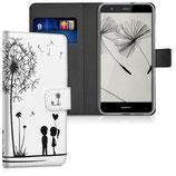 Wallet Case Hülle Huawei P10 Lite Pusteblume