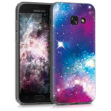 Crystal Case Hülle Samsung Galaxy A3 2017 Space
