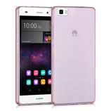 Flexibles Slim Case Huawei P8 Lite Pink