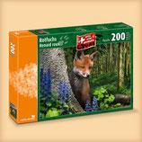 CARTA.MEDIA 7235 Rotfuchs Puzzle 200 Teile