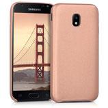 Softcase Samsung Galaxy J3 2017 Rosegold
