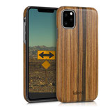 Holz Hülle Apple iPhone 11 Lindenholz