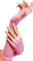 Handschuh Netzhandschuh neonpink
