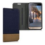 Bookstyle Hülle Samsung Galaxy J3 2016 Blau