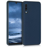 TPU Case Hülle Samsung Galaxy A50 Blau
