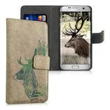 Wallet Case Samsung Galaxy S7 Edge Hirsch