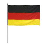 2x Deutschland Stab Fahne WM 2014