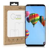 Echtglas Displayschutz Samsung Galaxy S8 3D Schutzglas Rahmen Schwarz