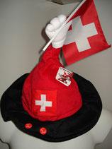 Schweiz-Hut mit Sound beweglich EM 2016