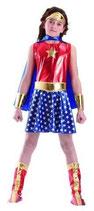 Superheldin Kostüm für Mädchen