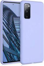 TPU Case Samsung Galaxy S20 FE Lavendel