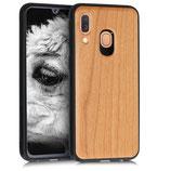 Holz Case Hülle Samsung Galaxy A40