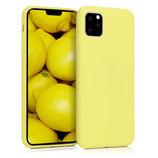 Case Hülle Apple iPhone 11 Pro Max Gelb