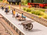 Noch 13700 Bahnsteigkarre 3D minis